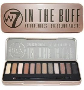 W7 In The Buff Natural Nudes Eyeshadow