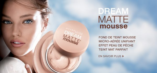 Dream mat mousse de Gemey Maybelline