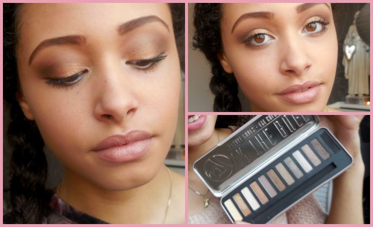 Marque w7 - Eyeshadow in the buff antural nudes