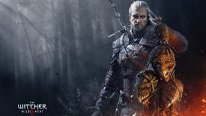 the witcher 3 Géralt