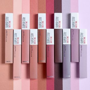 Tubes gemey maybelline superstay matte ink