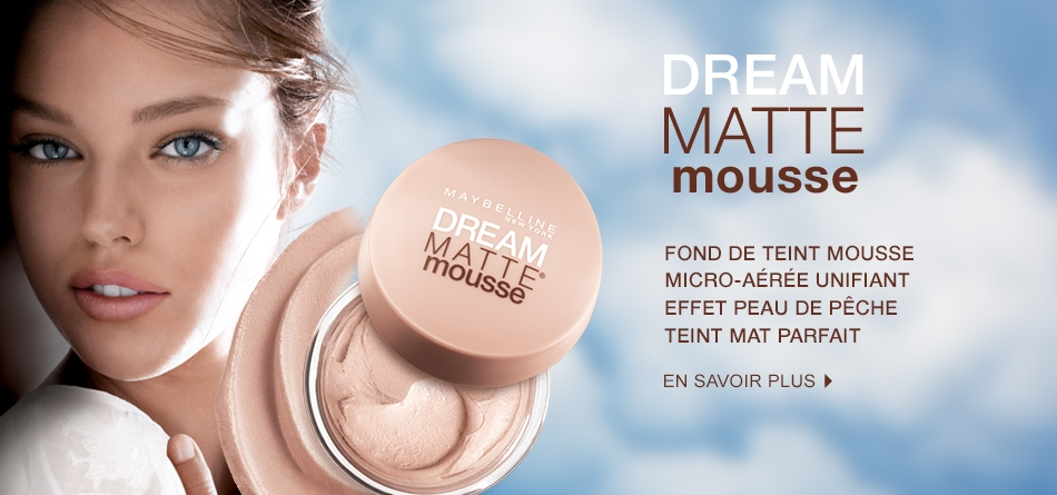 Gemey maybelline dream mat mousse avis